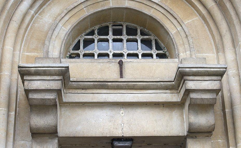 Gatehouse detailing