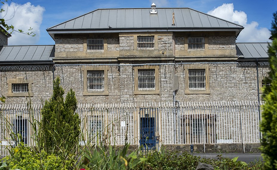The_Old_Shepton_Mallet_Gaol_Central_courtyard