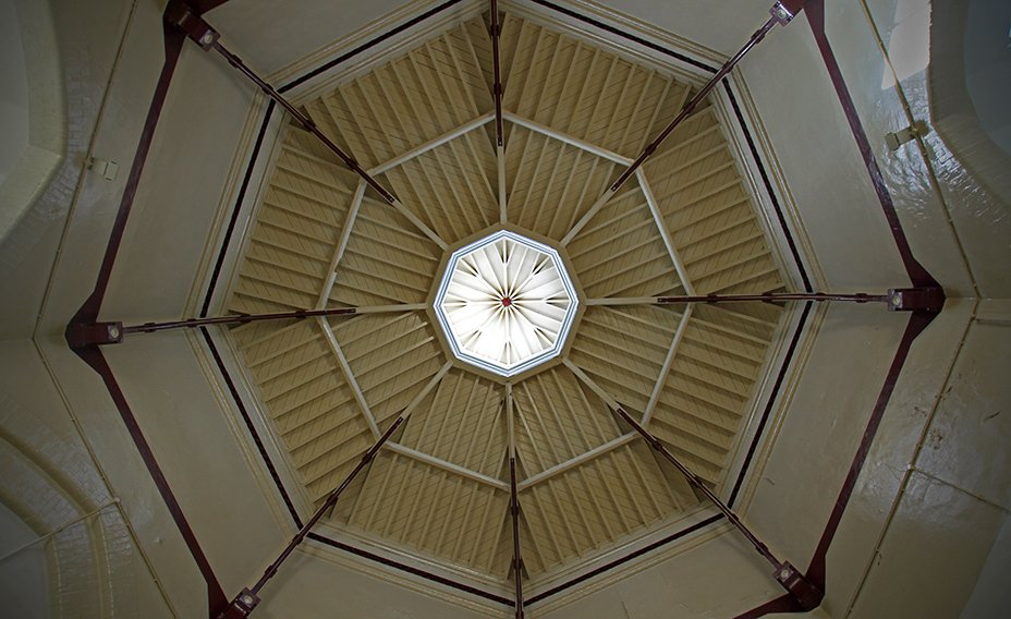 The_Old Portsmouth_Gaol_Rotunda_ceiling