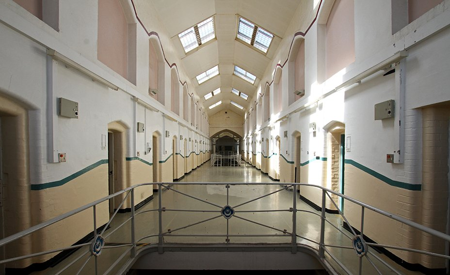 The_Old Portsmouth_Gaol_Internal_corridor