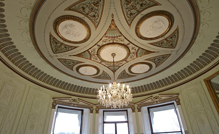 Many of the apartments will feature beautiful original ceilings