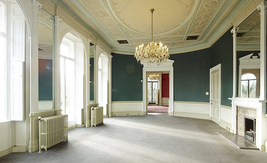 Internal of The Mansion before restoration
